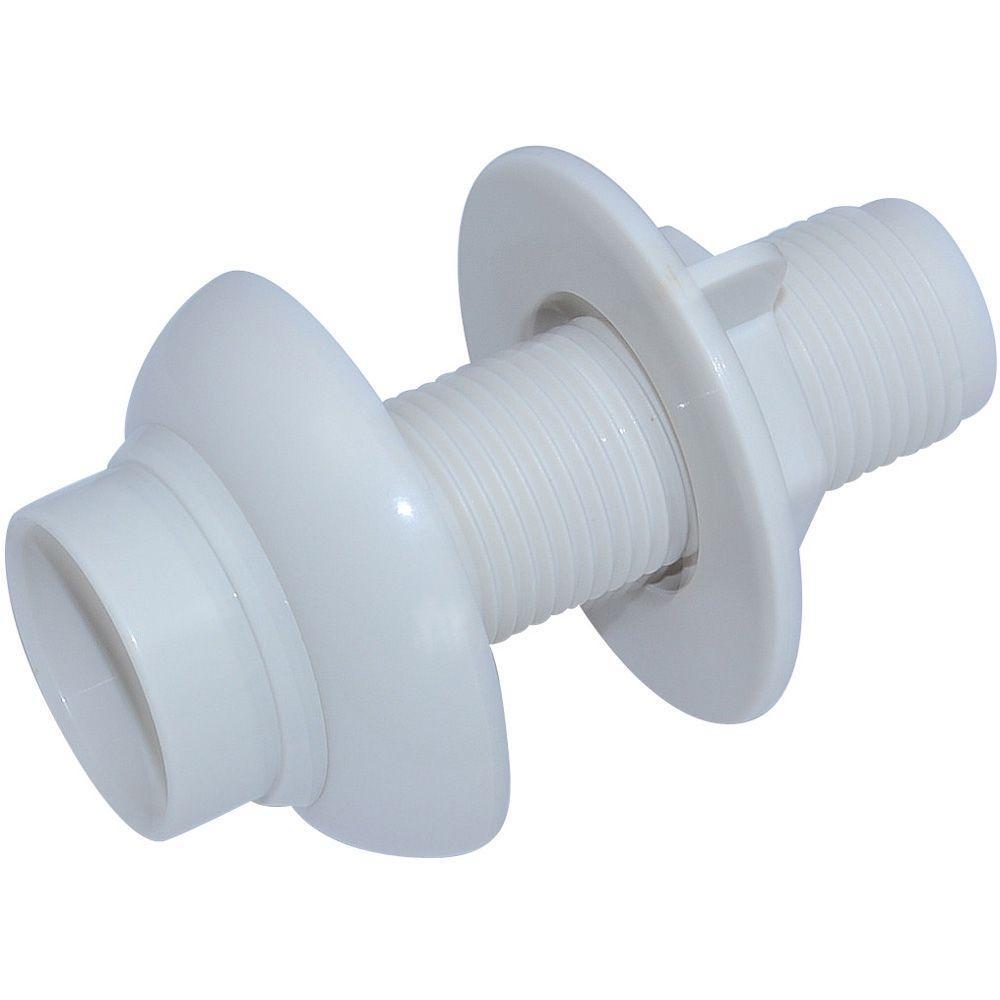 PartsmasterPro Kitchen Faucet Side Spray Hose Guide in White Finish ...