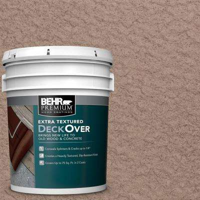 5 gal. #PFC-19 Pyramid Extra Textured Solid Color Exterior Wood and Concrete Coating
