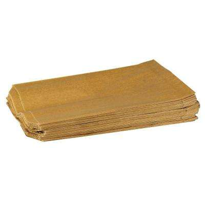 7.5 W x 3.5 H x 10.25 D Liner for Sanitary Napkin Units, Kraft Waxed Paper (Case of 500)