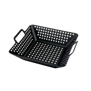 Click here to buy Charcoal Companion Large Non-Stick Square Wok by Charcoal Companion.
