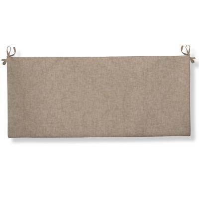 Sahara Rectangular Bench/Porch Swing Cushion in Beige