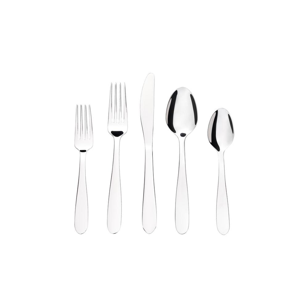 StyleWell 20-Piece Stainless Steel Modern Flatware Set (Service for 4) was $19.98 now $9.99 (50.0% off)