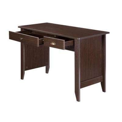 Eleanor Espresso Writing Desk
