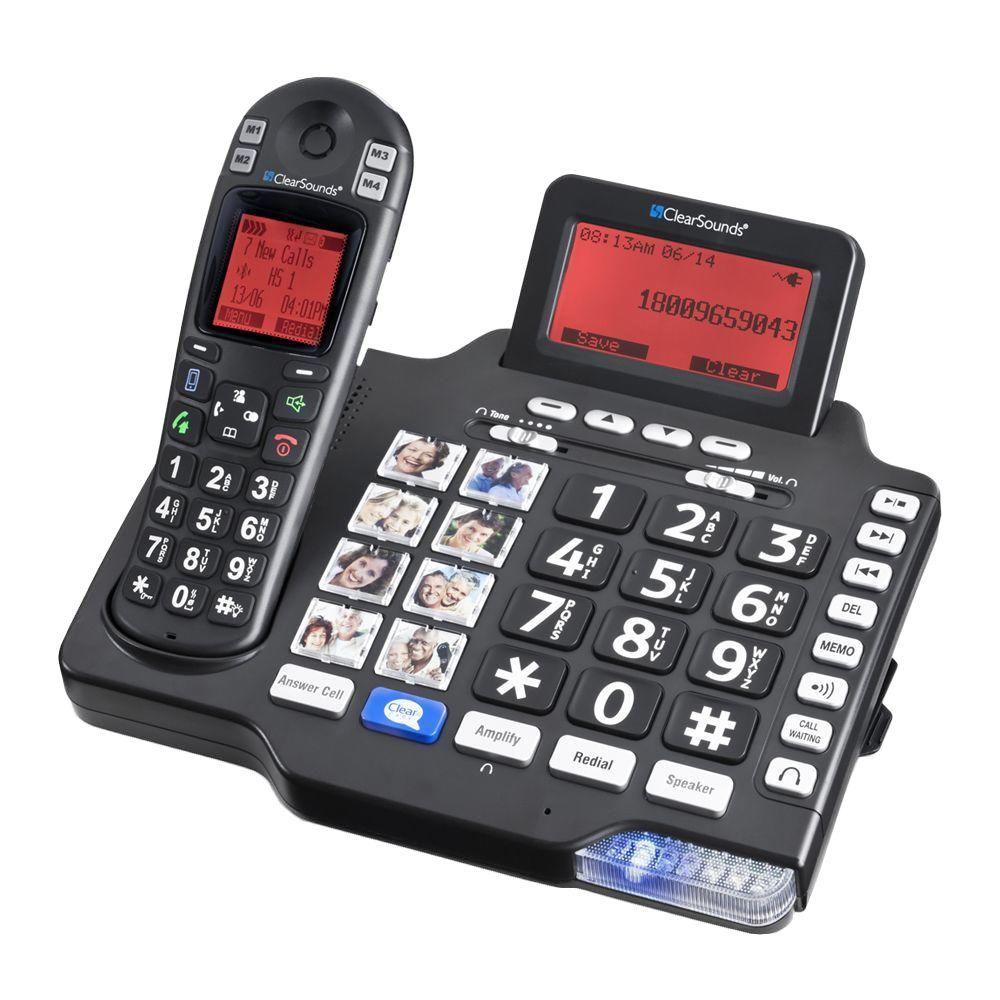DECT 6.0 Digital Amplified Deluxe Phone with Bluetooth