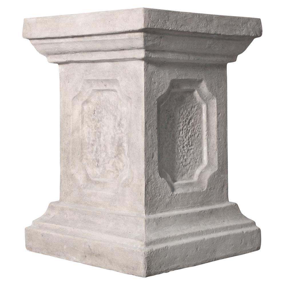 27.5 in. H Versailles Cherub Plinth