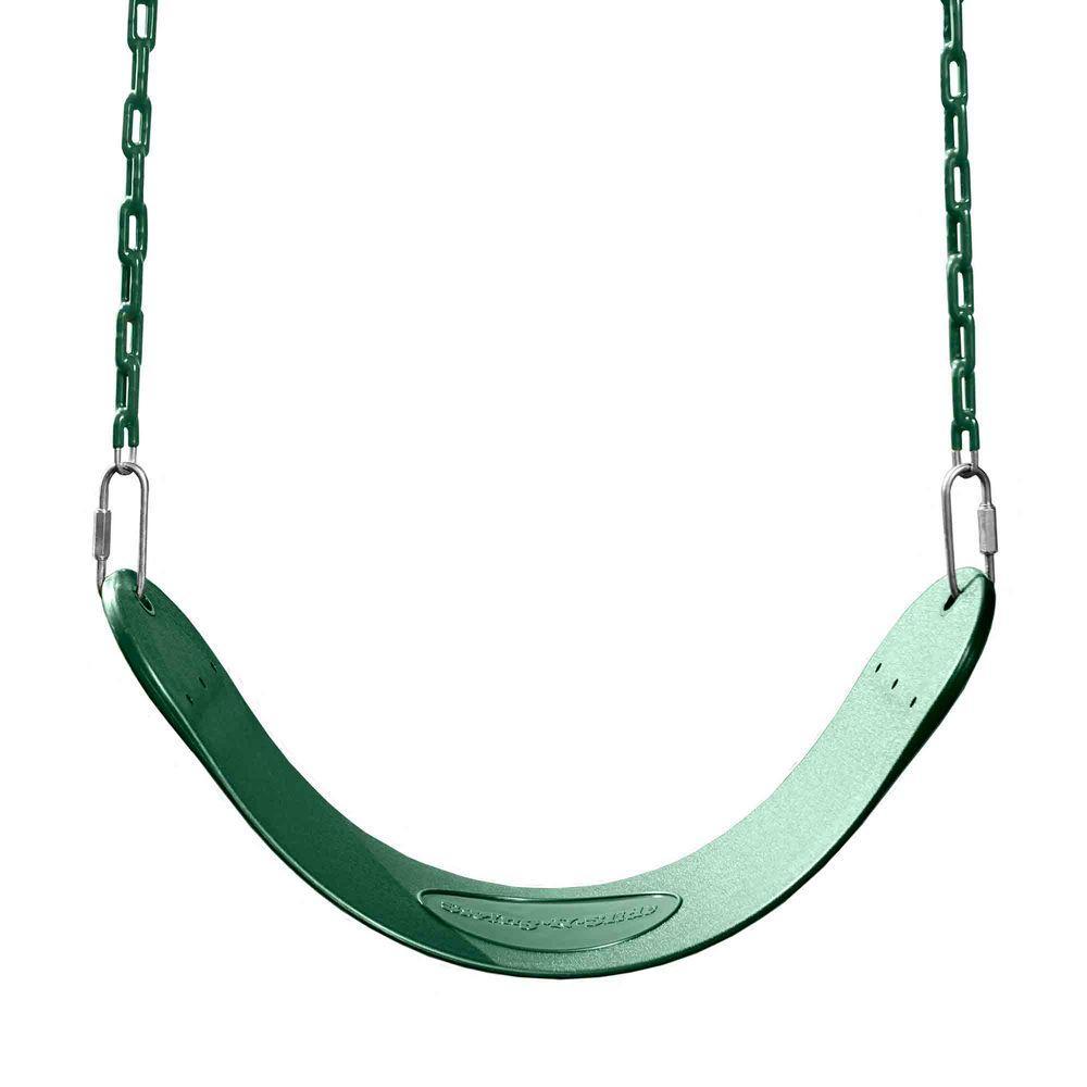 Green Regular Duty Swing Seat