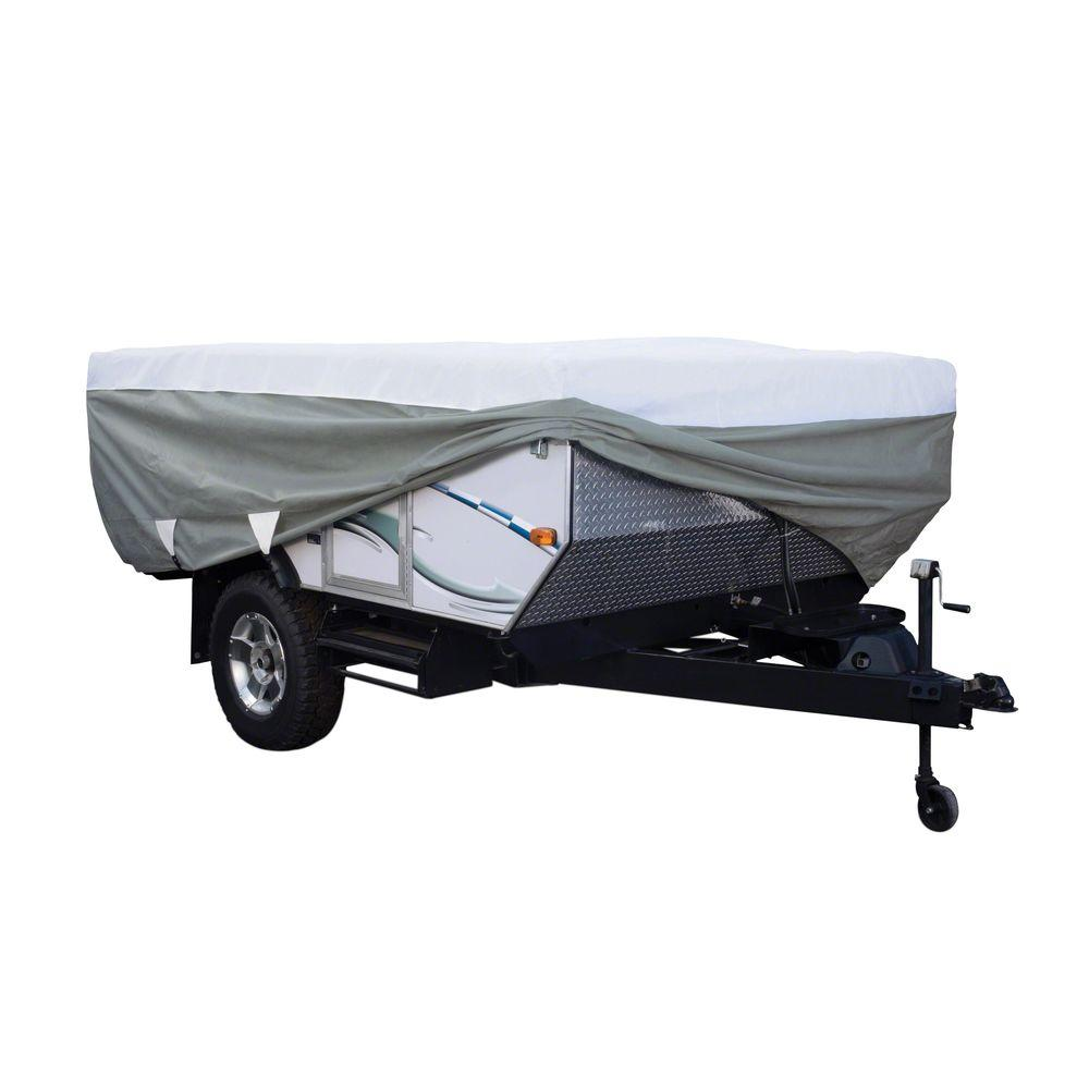 PolyPro3 18 to 20 ft. Folding Camping Trailer Cover