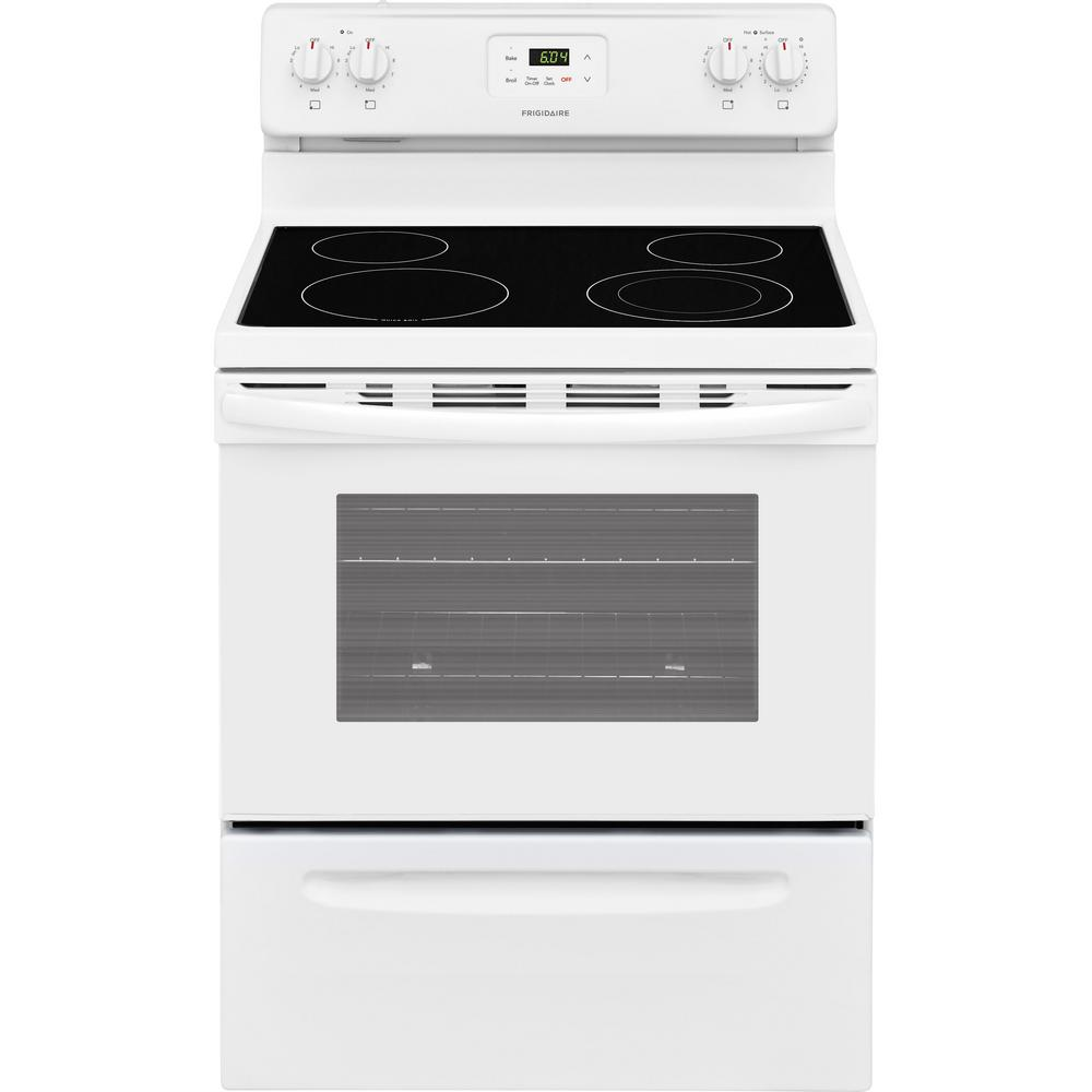 Electric Stoves Product ~ Frigidaire in cu ft electric range white