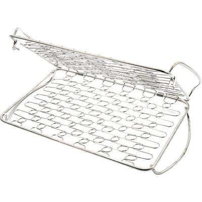 Fish Basket for Delicate Foods in Stainless Steel