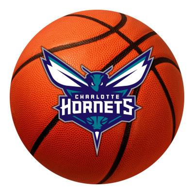 NBA - Charlotte Hornets Photorealistic 27 in. Round Basketball Mat