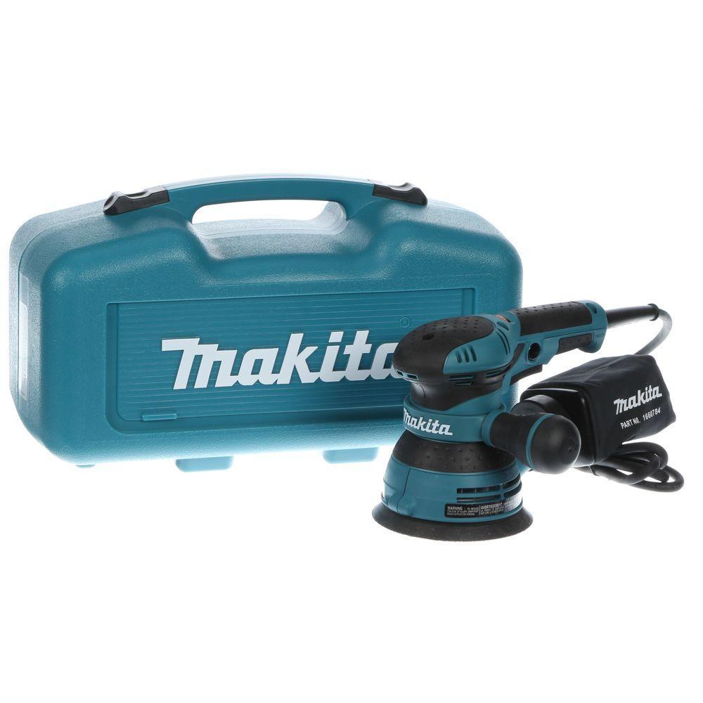 Makita 3 Amp 5 inch Random Orbital Sander with Variable Speed (Tool-Case) by Makita