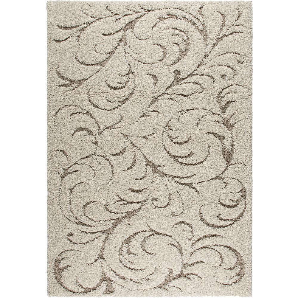 Home Dynamix Canyon Ivory Vines 8 ft. x 10 ft. Indoor Area Rug