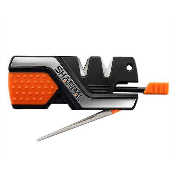 6-in-1 Knife Sharpener and Survival Tool