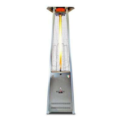 Lavalite A-Line 56,000 BTU 8 ft. Stainless Steel Propane Patio Heater