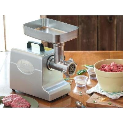 LEM Mighty Bite #8 Electric Meat Grinder with 3 Stuffing
