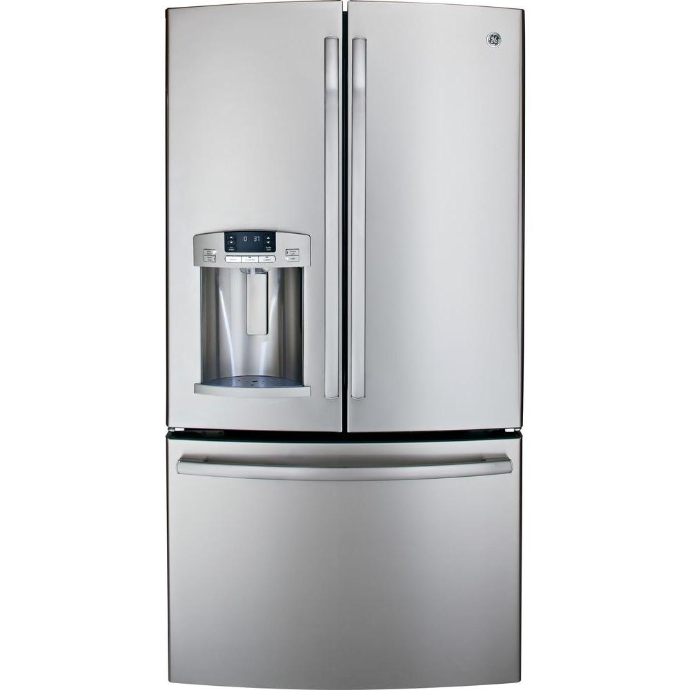 GE 27.7 cu. ft. French Door Refrigerator in Stainless Steel