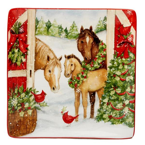 Certified International Christmas on the Farm by Susan Winget 12.5 in.