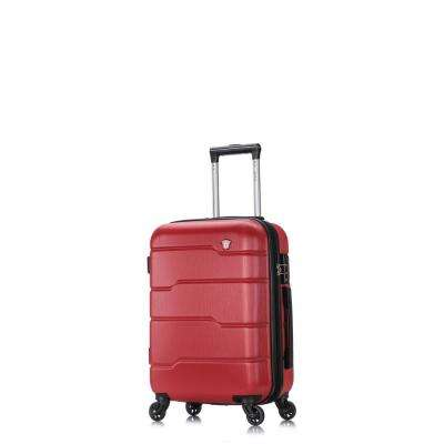 Rodez 20 in. Red Lightweight Hardside Spinner Carry-on
