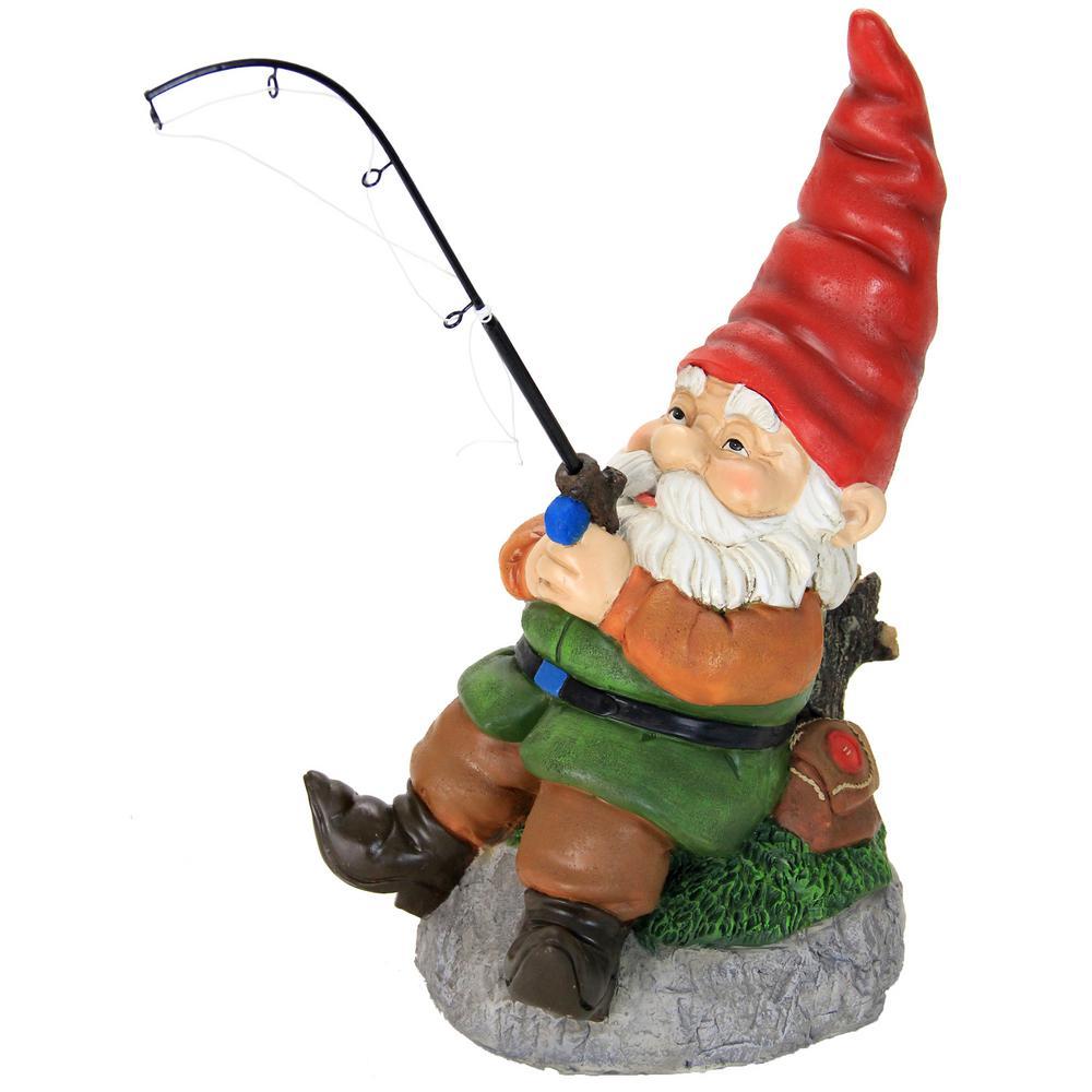 12 in. Fishing Gnome