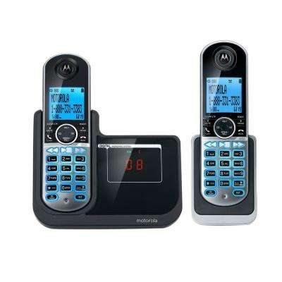 DECT 6.0 2-Handset Cordless Phone with Answering System