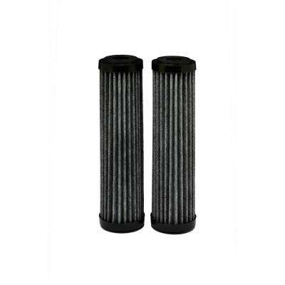 Universal Fit Flow and Capture Technology (FACT) Whole House Water Filter (2-Pack) - Fits Most Major Brand Systems