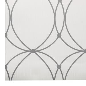 Graham & Brown 56 sq. ft. Darcy White Wallpaper by Graham & Brown