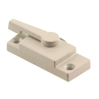 Almond Vinyl Window Sash Lock