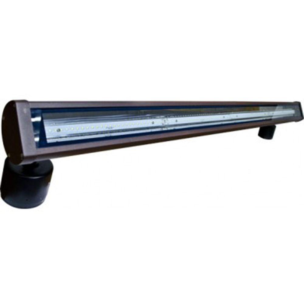 Flare 120-Light Bronze Outdoor LED Address Light