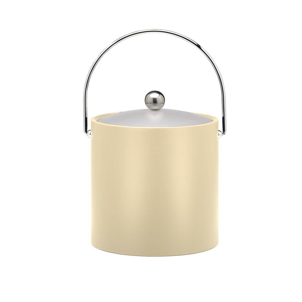 Kraftware 3 Qt. Insulated Ice Bucket in Ivory