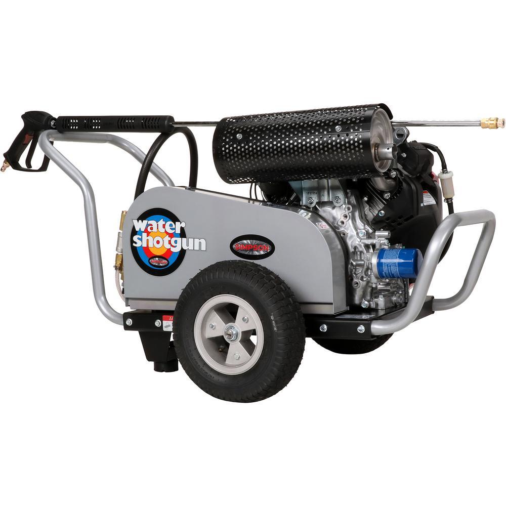 WaterShotgun 5000 psi at 5.0 GPM HONDA GX630 with COMET Triplex Pump Professional Gas Pressure Washer