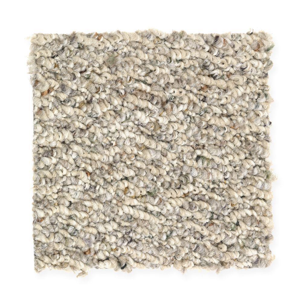 Carpet Sample - Speeding - Color Wetlands Loop 8 in. x 8 in.