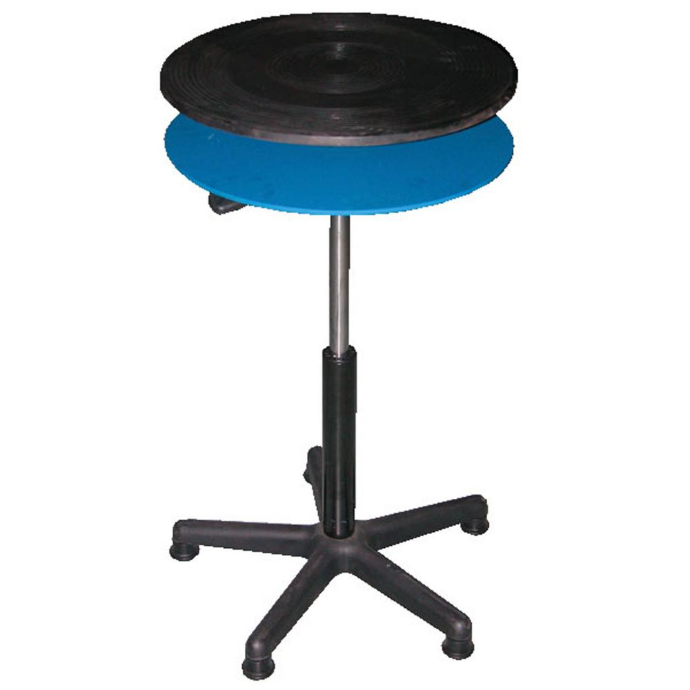 24 in. Manual Turntable Gas Cylinder Double Tier