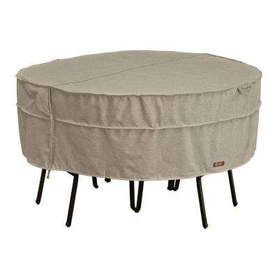 Montlake Medium Round Patio Table and Chair Set Cover