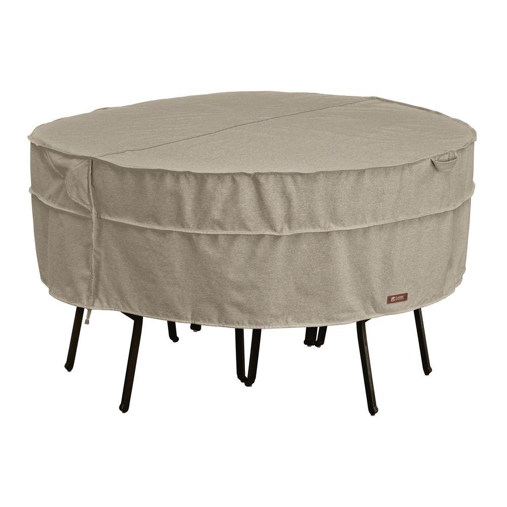 Classic Accessories Montlake Large Round Patio Table And