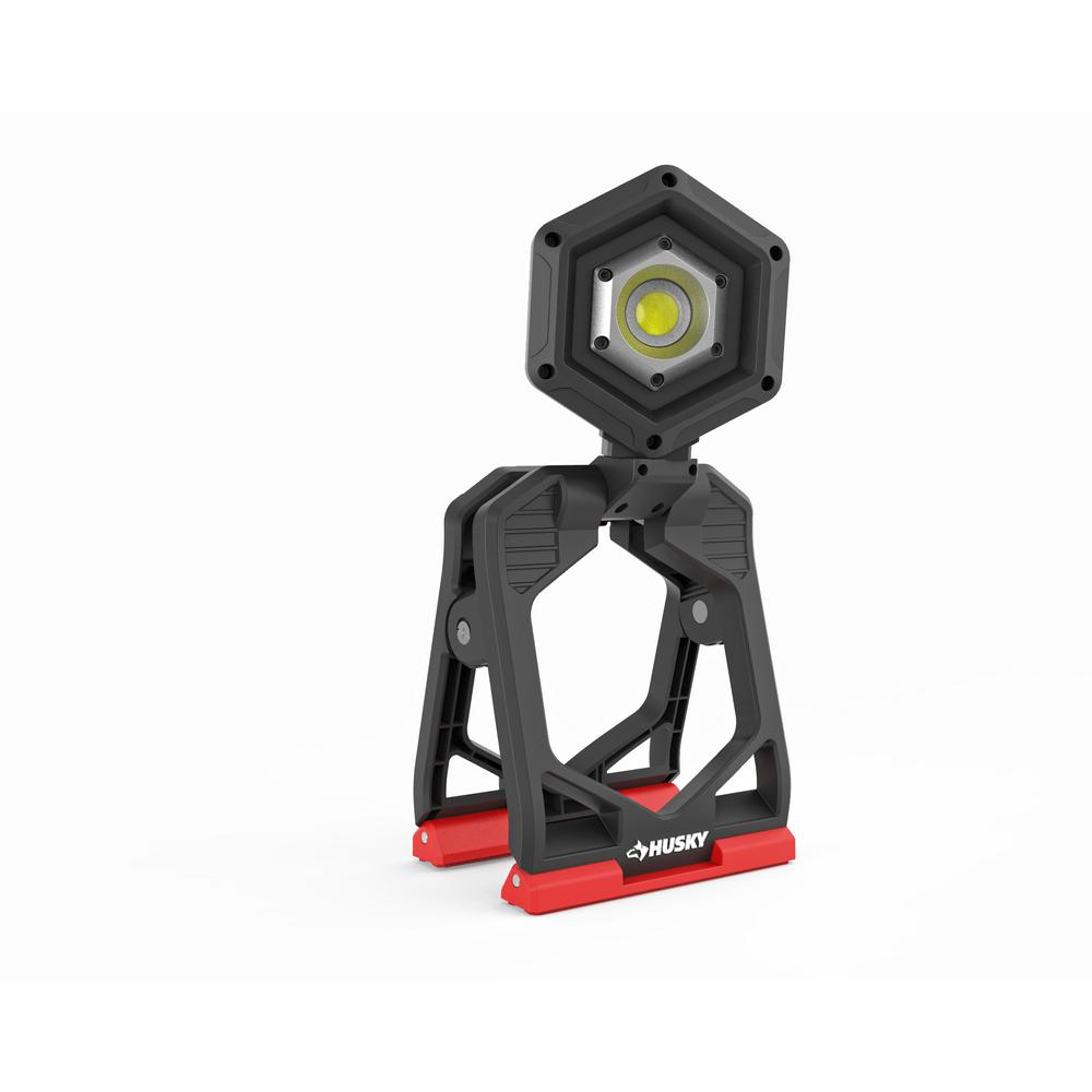 Husky Husky 1500-Lumen Rechargeable Clamp LED Work Light