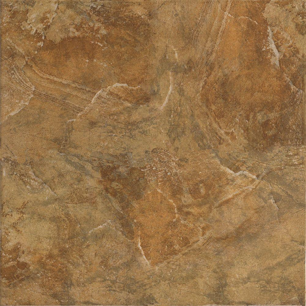 Marazzi Imperial Slate Tan 16 In X Ceramic Floor And Wall Tile