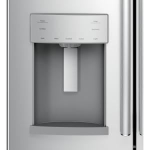 GE 27.8 cu. ft. French Door Refrigerator in Stainless Steel, ENERGY Ge Refrigerator Schematic Diagram Gne Gsk on