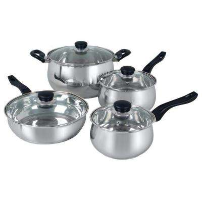 Rametto 8-Piece Cookware Set