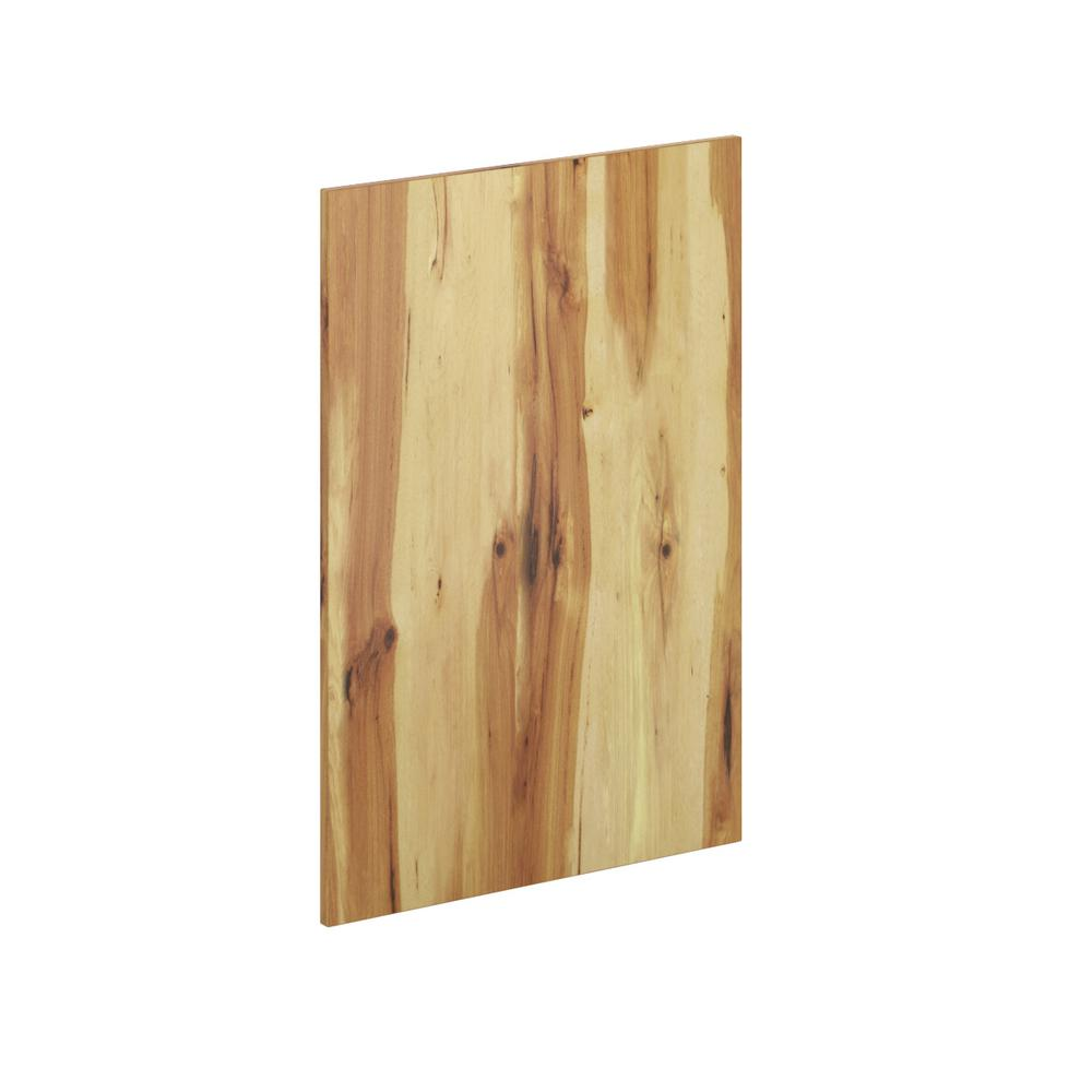 Kitchen Cabinet Flush Fit End Panel In Pure Hickory 2 Pack