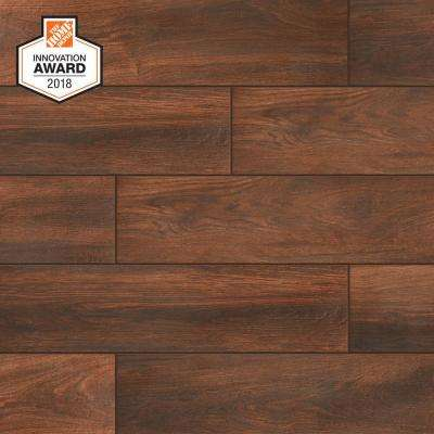Autumn Wood 6 in  x 24 in  Porcelain Floor and Wall Tile (14 55 sq  ft  /  case)