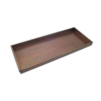 Classic Shoe Tray for Boots, Shoes, Plants, Pet Bowls and More in Copper