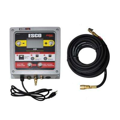 Automatic Tire Inflator Aluminum Wall Mounted with Digital/LCD Gauge