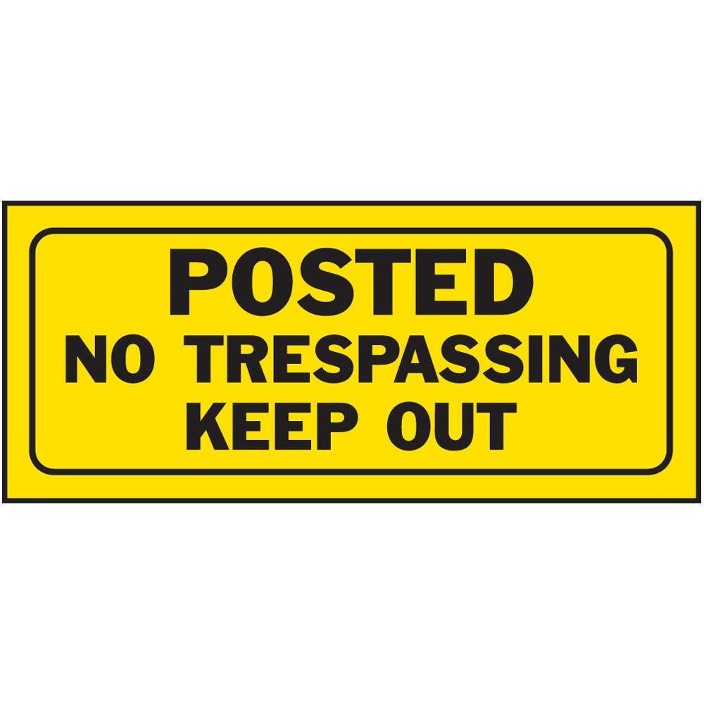 It is a graphic of Unforgettable Printable No Trespassing Signs