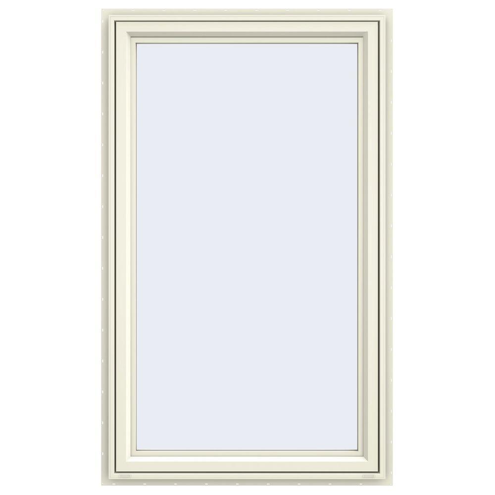 Jeld wen 35 5 in x 59 5 in v 4500 series left hand for Casement windows