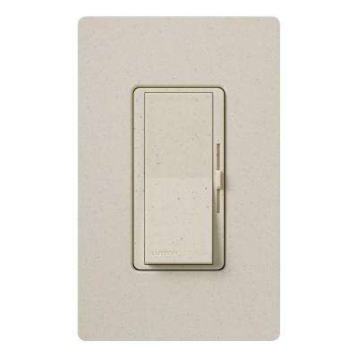 Diva Magnetic Low Voltage Dimmer, 450-Watt, Single-Pole or 3-Way, Limestone