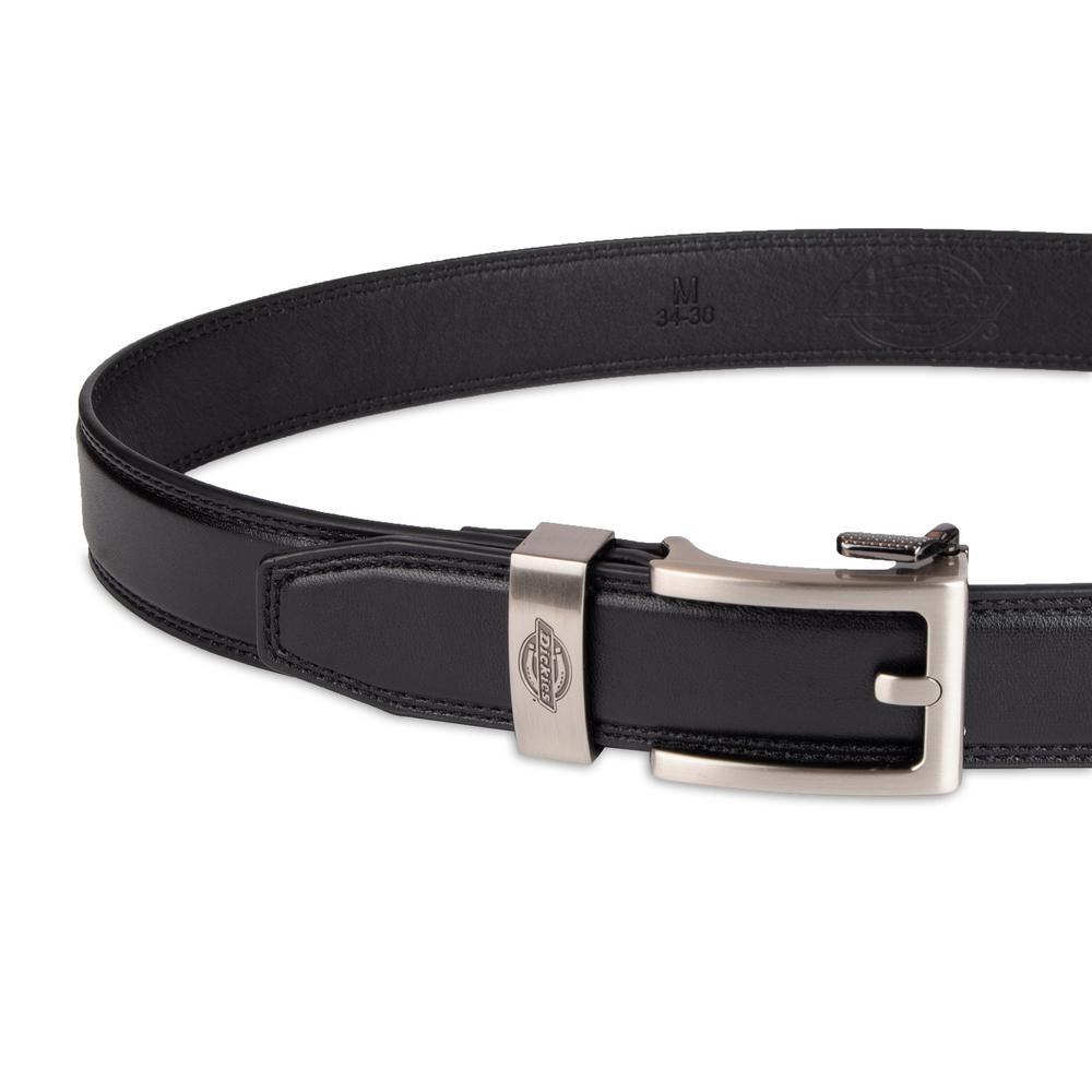 Men's Track-Lock Leather Belt