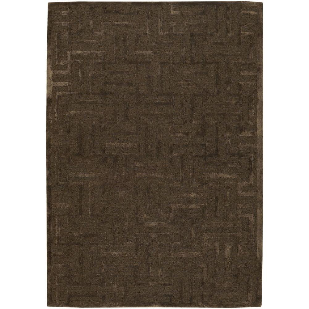 Kumana Taupe 5 ft. x 7 ft. 6 in. Indoor Area