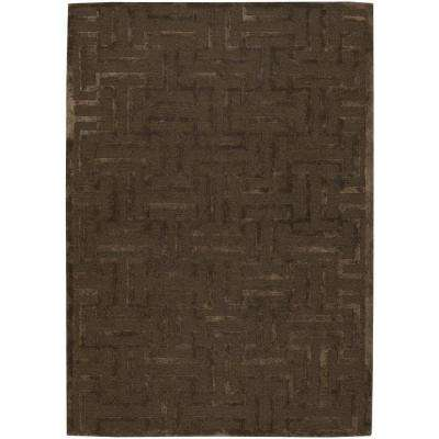 Kumana Taupe 5 ft. x 8 ft. Indoor Area Rug