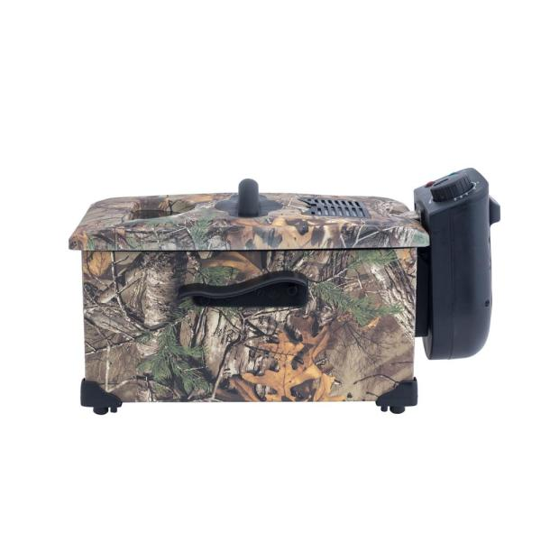 Magic Chef Deep Fryer Electric Frying Cooker 3.17 Quart Realtree Xtra Camouflage