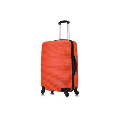 Royal lightweight hardside spinner 24 in. Orange